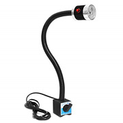 Wisamic Work Light With Magnetic Base Flexible Gooseneck Machine Worklight For