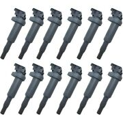 Set-wkp9212111-12 Walker Products Set Of 12 Ignition Coils New For 325 328 330