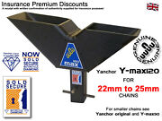 Motorbike Security Ground Anchor Sold Secure Diamond Insurance Disc - Y-max120