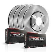 Tdbk2881 Powerstop 4-wheel Set Brake Disc And Pad Kits Front And Rear New For Cts