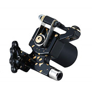 Mummy Rotary Tattoo Machine With Rca Connection Japan Motor Black-3