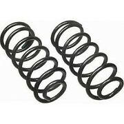 8621 Moog Coil Springs Set Of 2 Rear New For Town And Country Coupe Sedan Pair