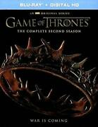 Game Of Thrones The Complete Second Season Blu-ray Alfie Allen Tim Roth