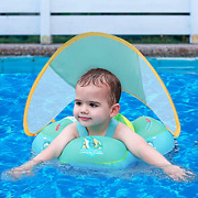 Refasy Pool Floats Kids 3-6,inflatable Baby Pool Float With Canopy Baby Swimming