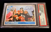 Paul Williams Signed Autograph Slabbed The Muppet Show Custom Card Psa Dna
