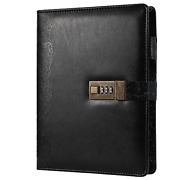 Locking Journal For Adults Journal With Lock Combination Passwords 6 Rings Large