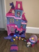 Fisher-price Little People Disney Cinderella Princess Castle And Musical Carriage