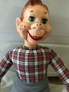 Vintage Howdy Doody/ideal Toys-ventriloquist Dummy /doll- Nice/ Works 22 Vgc