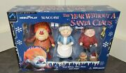 Suncoast The Year Without A Santa Claus Heat Miser Mrs. Claus And Jingle