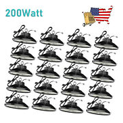 20pack 200w Ufo Led High Bay Light Warehouse Factory Commercial Light Fixtures