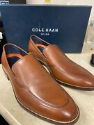 Cole Haan Mens Lenox Hill British Tan Loafers Size 9.5