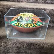 Pittsburgh Steelers Afc 1994 Championship Hand Painted Football Mike Lesko Art