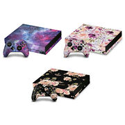 Official Anis Illustration Art Mix Vinyl Skin Decal For Xbox One X Bundle