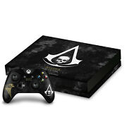 Assassin's Creed Black Flag Logos Vinyl Sticker Skin Decal For Xbox One X Bundle
