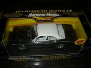 Ertl-american Muscle--chase Chrome -1971 Plymouth Duster 340 1/18 -36673-nice