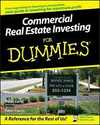 Commercial Real Estate Investing For Dummies By Harris Peter Conti Peter New