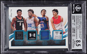 2020 Immaculate Collection Wiseman Lamelo Ball Okoro Edward Rc Patch 1/1 Bgs 8.5