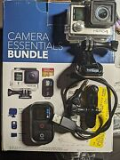 Gopro Hero 4 Action Camera Silver With Remote Free Shipping