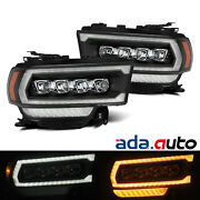 For 19-21 Dodge Ram 2500 Nova-series Led Projector Headlights Replacement Black