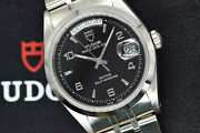 Tudor Date Day 76200 From 2001 | Discontinued | Rare Black Arabic Dial