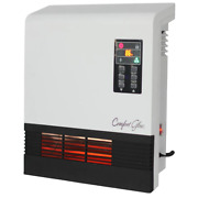 Electric Space Heater With Remote Control Wall Mount 1500-watt Infrared Quartz