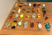 Vintage Murano Glass Candy Ornaments 28 Pieces