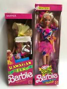 Two Collectible Barbie Dolls