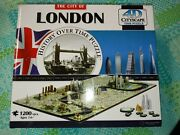 4d Cityscape Jigsaw Puzzle - London City Map With Time Layer