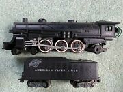 American Flyer 21085 Candnw Pacific Engine Loco Plug In Tender Knuckle Smokesruns