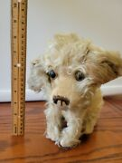 Antique Mohair Toy Musical Dog Possibly Jopi 1930and039s