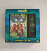 Scooby Doo Video And Watch Gift Set Vhs 2002 Collectors Item Memorabilia Very Rare