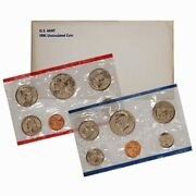 1981 Uncirculated Mint Set Key Issue 13 Coins Complete