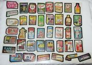Topps Wacky Packages Lot 40 Vintage Card Stickers 1980 Series Collectible Pack