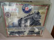 Boy Scout,lionel 2010 Anniversary Train Set, New In Box,factory Sealed.