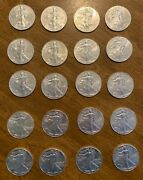 20 1oz Silver Eagle Coins Years 2012 2013