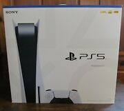 Playstation 5 Ps5 Console Blu-ray Disc Version Trusted Seller Fast Free Ship