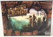 Z-man Boardgame Robinson Crusoe Collection, Base Game + 3 Expansion Nm