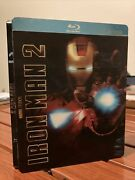 Marvel Iron Man 2 Target Exclusive Limited Edition 3-disc Blu-ray Steelbook