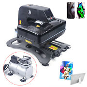 Heat Press Machine 3d Sublimation For Phone Cases Mugs Cups Heat Transfer New