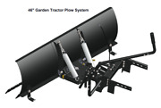Lawn Tractor 46 Inch Plow Kit For Dirt And Snow
