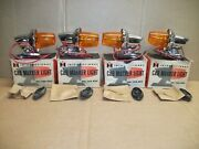 Nos International Truck Cab Marker Lights 1960and039s Scout-travelall-pickup 4 Total