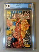 New Mutants 98 Cgc 9.8 White Pages 1st Deadpool