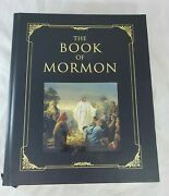 The Book Of Mormon Large Print Hardcover Gilt Edges Covenant Heirloom