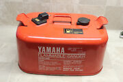 6.3 Gallon Yamaha Vintage Metal Outboard Boat Gas Fuel Tank Can Parts/repair