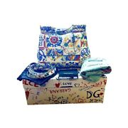 Dolce And Gabbana New Sicily Dauphine Majolica Italy Bag Purse 2795 Rare Sold Out