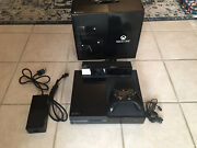Microsoft Xbox One Day One Edition 500gb Black Console W/ Kinect - Us Seller