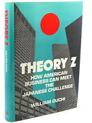 William Ouchi Theory Z  How American Business Can Meet The Japanese Challenge