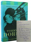 Peter J. Levinson Tommy Dorsey Signed 1st Livinand039 In A Great Big Way--a Biography