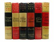 Winston S. Churchill The Second World War Triumph And Tragedy In Six Volumes Th