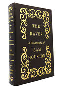 Marquis James The Raven A Biography Of Sam Houston Easton Press 1st Edition 1st